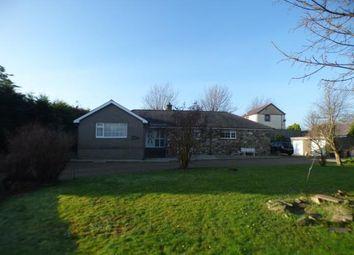 Thumbnail 4 bed bungalow for sale in Glan Y Wern, Chwilog, Pwllheli, Gwynedd