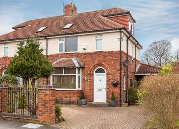 Thumbnail 4 bed semi-detached house for sale in Cornborough Avenue, Heworth, York