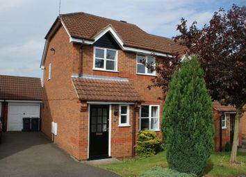 Thumbnail 3 bed semi-detached house to rent in Hammersmith Close, Nuthall, Nottingham