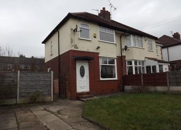 Thumbnail 2 bed semi-detached house for sale in Manor Road, Stockport, Greater Manchester