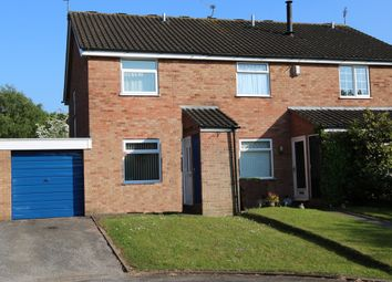 Thumbnail 2 bed semi-detached house for sale in Covert Close, Winsford