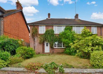 Thumbnail 3 bed semi-detached house to rent in Greenham Road, Newbury, Berkshire