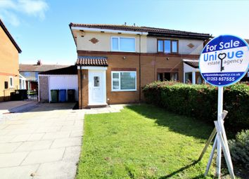 Thumbnail 2 bed semi-detached house to rent in Riversgate, Fleetwood, Lancashire