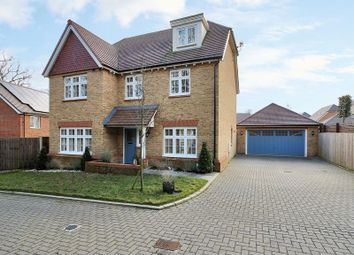 Thumbnail 5 bed detached house for sale in Haynes Way, Pease Pottage, Crawley, West Sussex