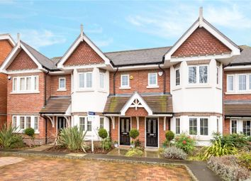 Thumbnail 4 bed terraced house for sale in Trenchard Close, Hersham, Walton-On-Thames, Surrey