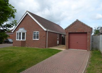 Thumbnail 3 bed detached bungalow to rent in John Lawrence Close, Beccles