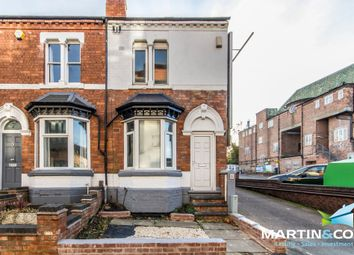 Thumbnail 3 bed end terrace house for sale in Greenfield Road, Harborne