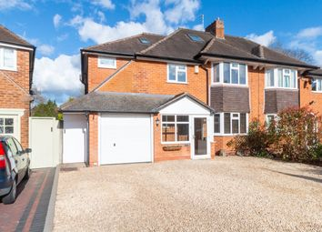 Thumbnail 5 bed semi-detached house for sale in Witley Avenue, Solihull