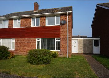 Thumbnail 3 bed semi-detached house for sale in Stour Drive, Wareham