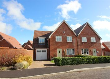 Thumbnail Semi-detached house for sale in John Ruskin Road, Tadpole Garden Village, Swindon