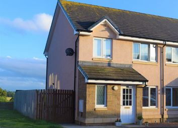 Thumbnail 3 bed semi-detached house for sale in Whitehall Road, Chirnside, Duns, Berwickshire, Berwickshire