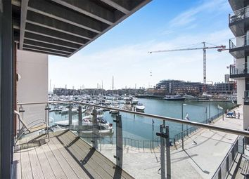 Thumbnail 2 bed flat for sale in Channel Way, Ocean Village, Southampton