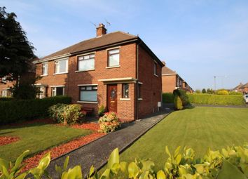 Thumbnail 3 bedroom semi-detached house for sale in Churchill Crescent, Bangor