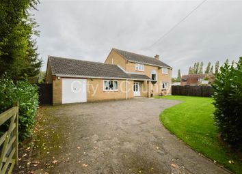 Thumbnail 4 bed detached house for sale in North Green, Whittlesey, Peterborough