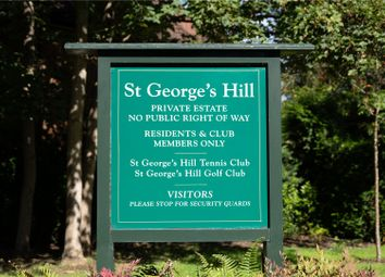 St George's Hill, Weybridge, Surrey KT13. Land for sale