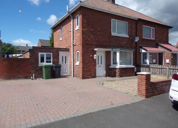 Thumbnail 3 bed semi-detached house for sale in Roslin Park, Bedlington
