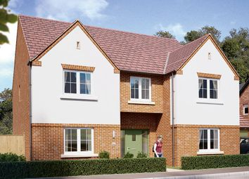 "Thumbnail 5 bedroom detached house for sale in ""The Oakham"" at Boughton Road, Moulton, Northampton"