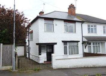 Thumbnail 3 bed semi-detached house for sale in Tennyson Road, Woodthorpe, Nottingham