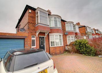 Thumbnail 3 bed semi-detached house to rent in Cliftonville Avenue, Newcastle Upon Tyne