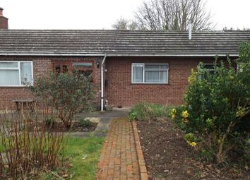 Thumbnail 1 bed semi-detached bungalow to rent in Church Road, Clehonger, Hereford