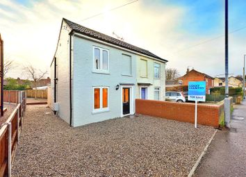 Thumbnail 2 bed semi-detached house for sale in Bacton Road, North Walsham
