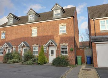 Thumbnail 3 bed town house for sale in Vivaldi Drive, Heath Hayes, Staffordshire