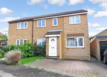 Thumbnail 4 bed semi-detached house for sale in Derwent Avenue, Biggleswade, Bedfordshire