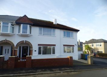Thumbnail 4 bed semi-detached house for sale in Manor Avenue, Pwllheli, Gwynedd