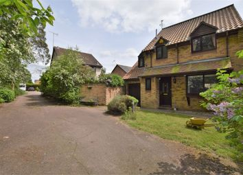 Thumbnail 4 bedroom detached house for sale in Hurrell Down, Highwoods, Colchester, Essex