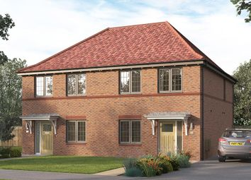 """Thumbnail 3 bed semi-detached house for sale in """"The Lorton """" at Steeplechase Way, Market Harborough"""