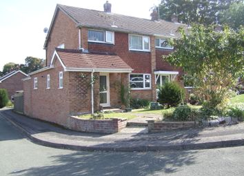 Thumbnail 3 bed end terrace house to rent in Beech Road, Alresford, Hampshire