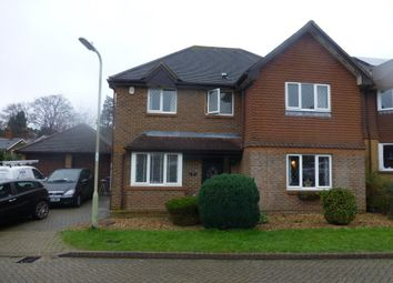 Thumbnail 4 bed detached house to rent in Cavendish Gardens, Church Crookham, Fleet