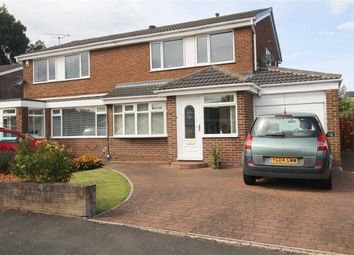Thumbnail 3 bed semi-detached house for sale in Ashkirk, Dudley, Cramlington