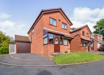 Thumbnail 3 bed detached house for sale in Kempsey Close, Solihull