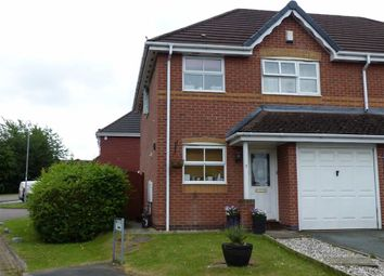 Thumbnail 3 bed semi-detached house for sale in Blandford Drive, Northwich, Northwich, Cheshire