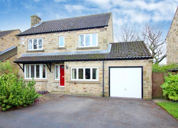 Thumbnail 4 bed detached house for sale in Hillam Hall Lane, Hillam, Leeds