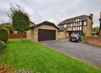 Thumbnail 4 bed detached house for sale in Parker Close, Hamstreet, Ashford
