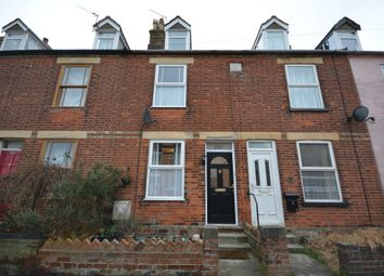 Thumbnail 4 bed terraced house for sale in Church Road, Kessingland, Lowestoft