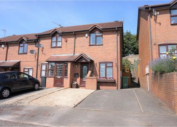 Thumbnail 2 bedroom end terrace house for sale in Rubens Close, Dudley