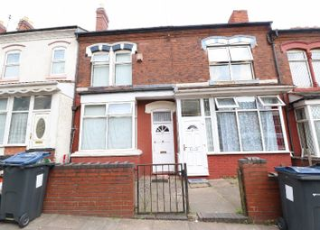Thumbnail 3 bed terraced house for sale in Station Road, Handsworth, West Midlands
