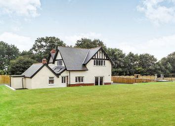 Thumbnail 5 bed detached house for sale in Caebryn House Pen-Y-Bryn Terrace, Brynmenyn, Bridgend.
