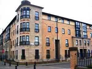 Thumbnail 3 bed flat for sale in Thistle Terrace, Glasgow