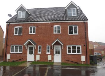 Thumbnail 4 bedroom semi-detached house for sale in Greylag Close, Sprowston, Norwich