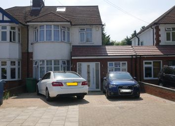 Thumbnail 4 bed detached house to rent in Wimborne Drive, Pinner