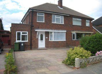 Thumbnail Room to rent in Room Derwent Road, Claregate, Wolverhampton