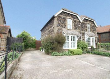 Thumbnail 2 bed semi-detached house for sale in Dover Road, Walmer, Deal
