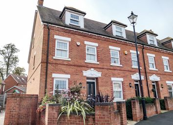Thumbnail 3 bed town house for sale in Hebbes Close, Kempston, Bedford