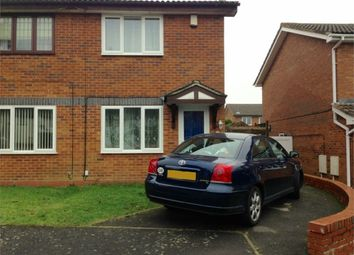 Thumbnail 2 bed semi-detached house for sale in Berneshaw Close, Corby, Northamptonshire