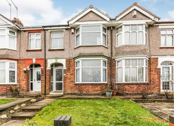 Thumbnail 3 bed terraced house for sale in Tiverton Road, Coventry, West Midlands