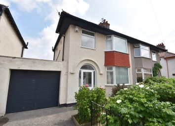 Thumbnail 3 bed semi-detached house for sale in Alwyn Gardens, Moreton, Wirral